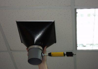 Проверка эффективности вентиляционной системы в офисном помещении